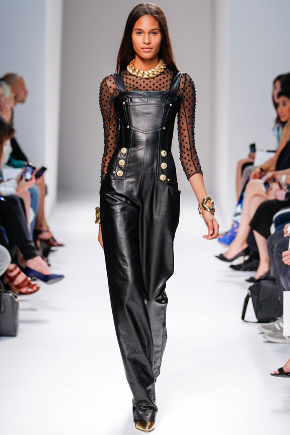 paris fashion week, catwalk, runway show, review, critic, spring summer 2014, balmain