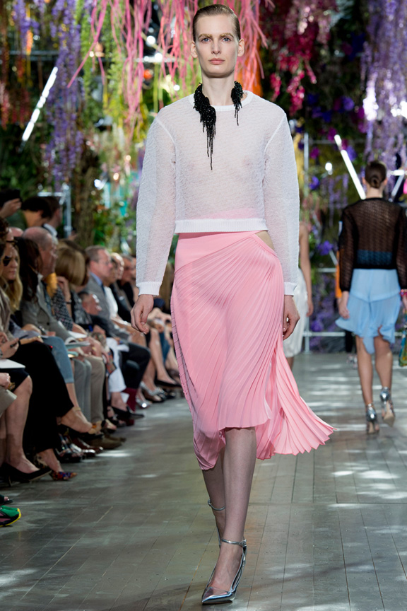 catwalk, fashion critic, runway review, paris fashion week, spring summer 2014, raf simons, christian dior