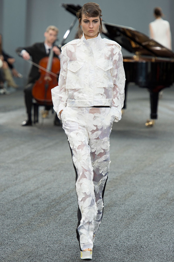 London fashion week, catwalk, runway show, review, critic, spring summer 2014, erdem