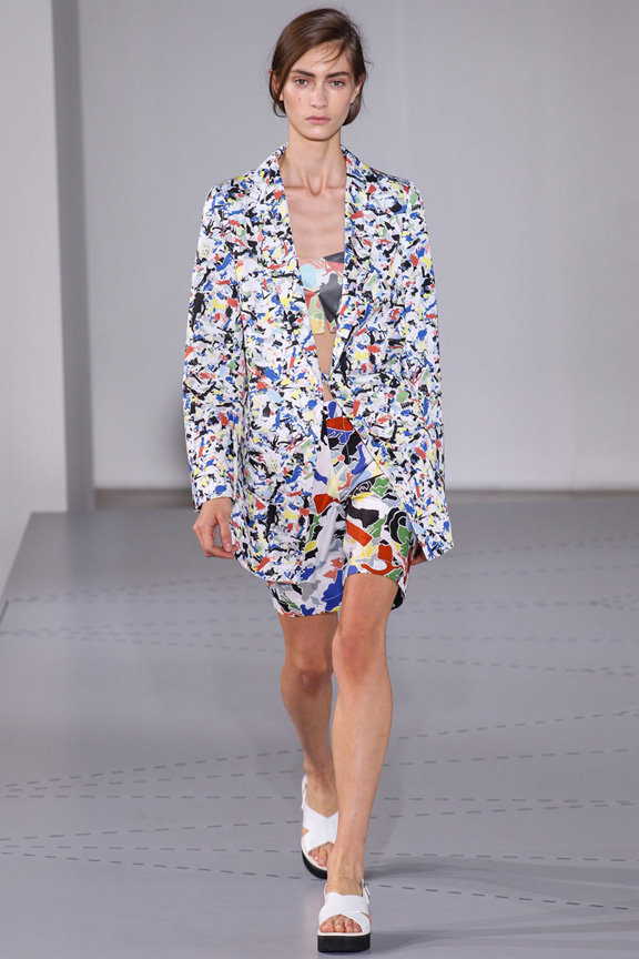 milan fashion week, catwalk, runway show, review, critic, spring summer 2014, jil sander