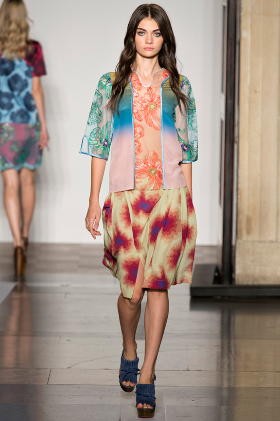 London fashion week, catwalk, runway show, review, critic, spring summer 2014, jonathan saunders
