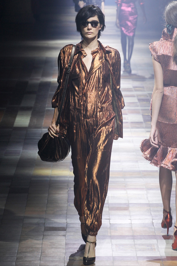 paris fashion week, catwalk, runway show, review, critic, spring summer 2014, lanvin, alber elbaz