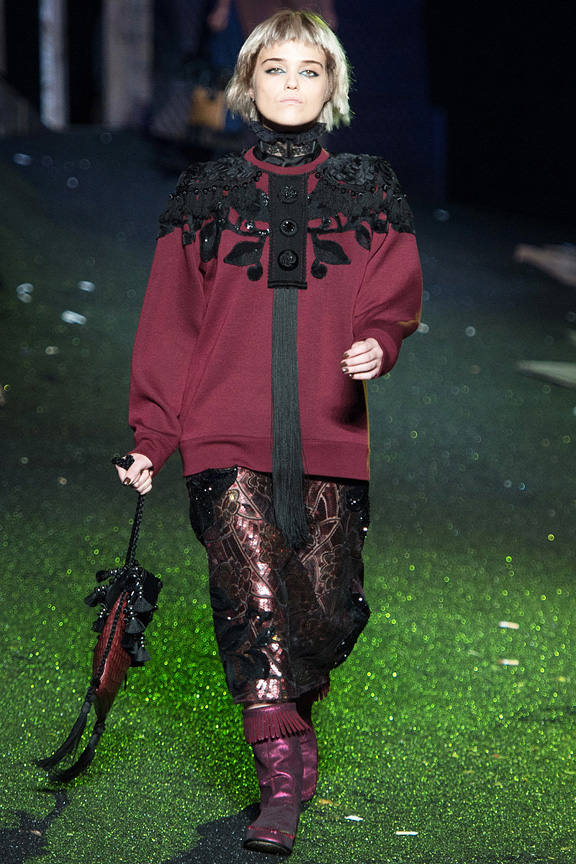 New York fashion week, catwalk, runway show, review, critic, spring summer 2014, marc jacobs