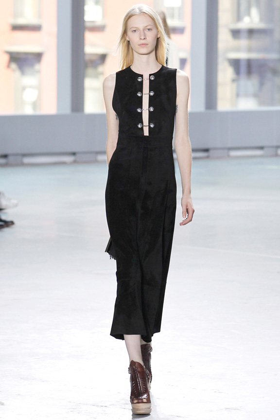 New York fashion week, catwalk, runway show, review, critic, spring summer 2014, proenza schouler