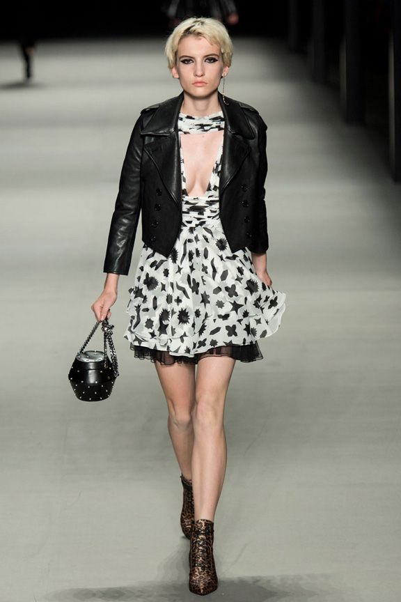 catwalk, fashion critic, runway review, paris fashion week, spring summer 2014, saint laurent, hedi slimane