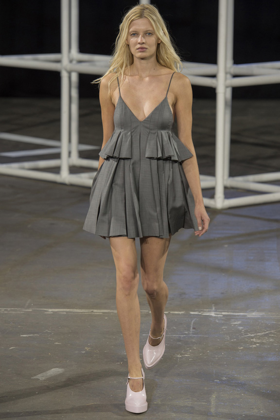 New York fashion week, catwalk, runway show, review, critic, spring summer 2014, alexander wang