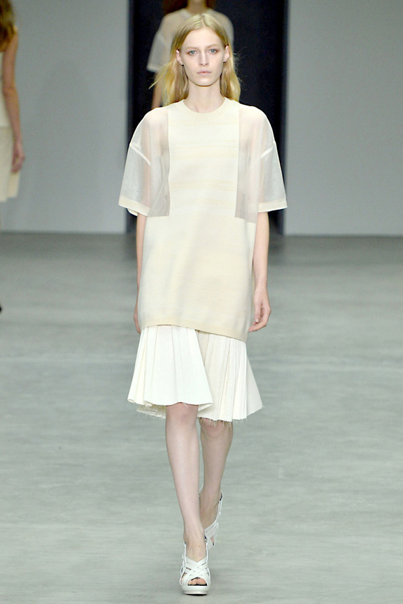 New York fashion week, catwalk, runway show, review, critic, spring summer 2014, calvin klein