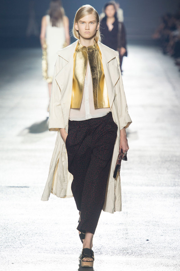 paris fashion week, catwalk, runway show, review, critic, spring summer 2014, dries van noten