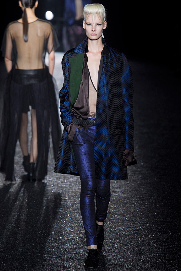 catwalk, fashion critic, runway review, paris fashion week, spring summer 2014, haider ackermann