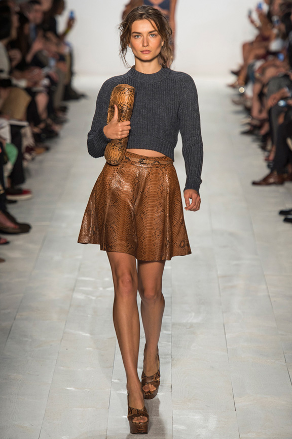 New York fashion week, catwalk, runway show, review, critic, spring summer 2014, michael kors