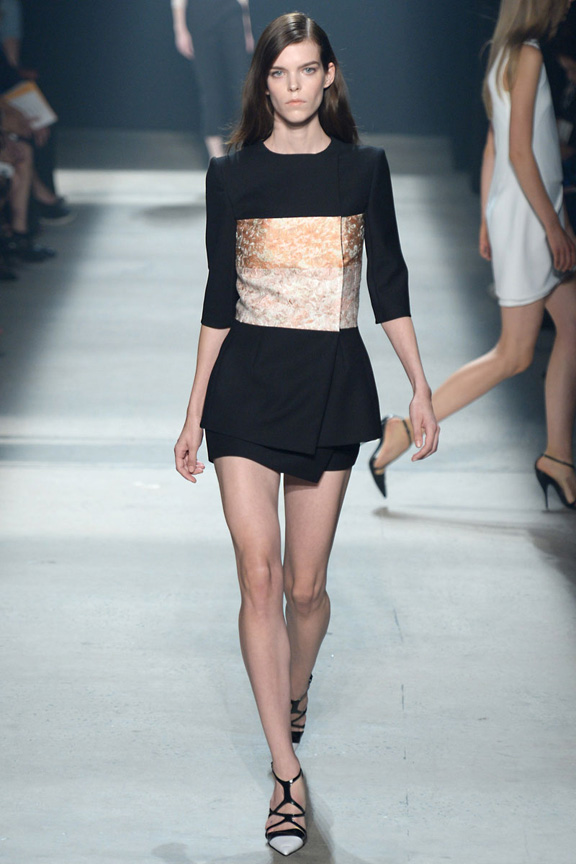New York fashion week, catwalk, runway show, review, critic, spring summer 2014, narciso rodriguez