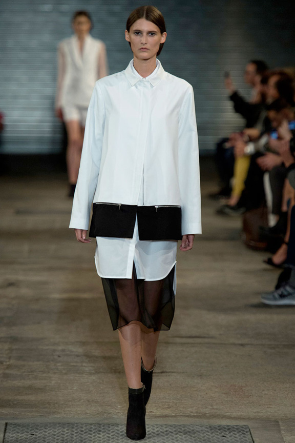 London fashion week, catwalk, runway show, review, critic, spring summer 2014, Richard Nicoll