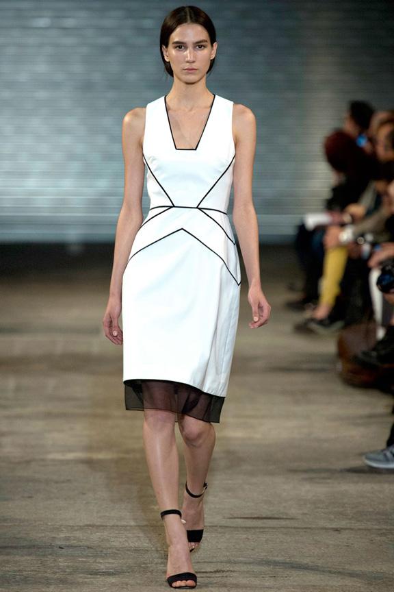 London fashion week, catwalk, runway show, review, critic, spring summer 2014, Richard Nicoll