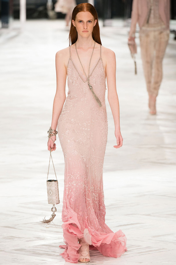 Roberto Cavalli Spring 2014 Dresses milan fashion week catwalk