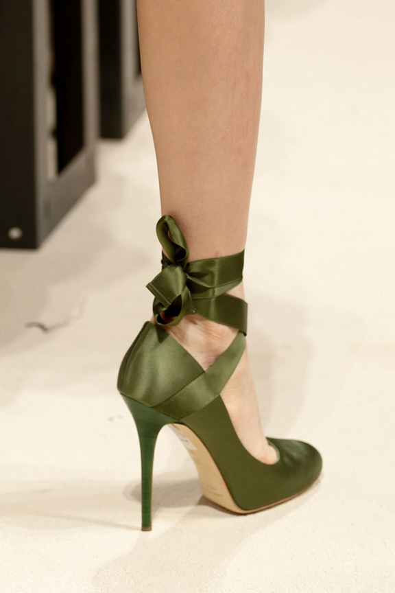 milan fashion week, catwalk, runway show, review, critic, spring summer 2014, shoes, alberta ferretti