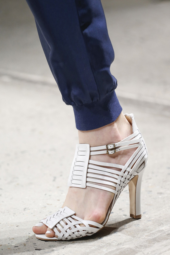 New York fashion week, catwalk, runway show, review, critic, spring summer 2014, shoes,  band of outsiders