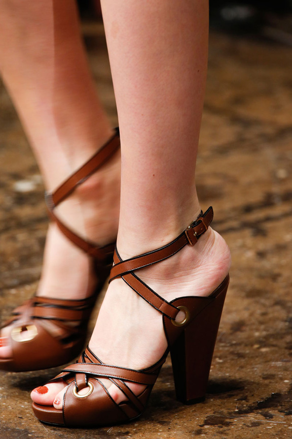 New York fashion week, catwalk, runway show, review, critic, spring summer 2014, shoes,  donna karan