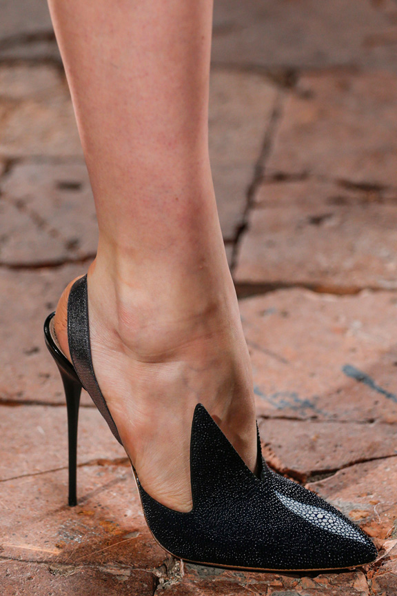 milan fashion week, catwalk, runway show, review, critic, spring summer 2014, shoes, marco de vincenzo