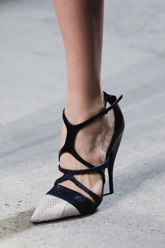New York fashion week, catwalk, runway show, review, critic, spring summer 2014, shoes, narciso rodriguez