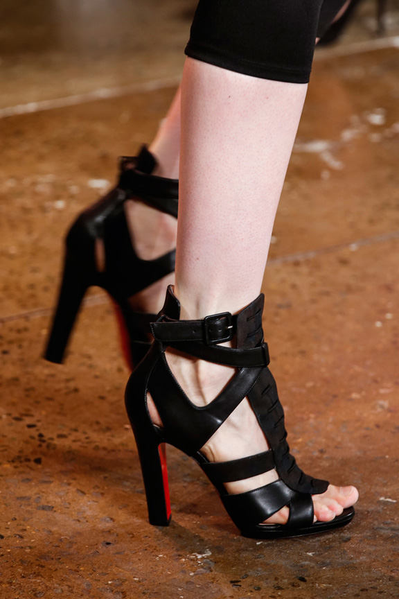 New York fashion week, catwalk, runway show, review, critic, spring summer 2014, shoes, peter som