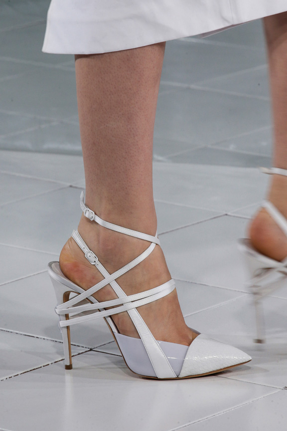New York fashion week, catwalk, runway show, review, critic, spring summer 2014, shoes, prabal gurung