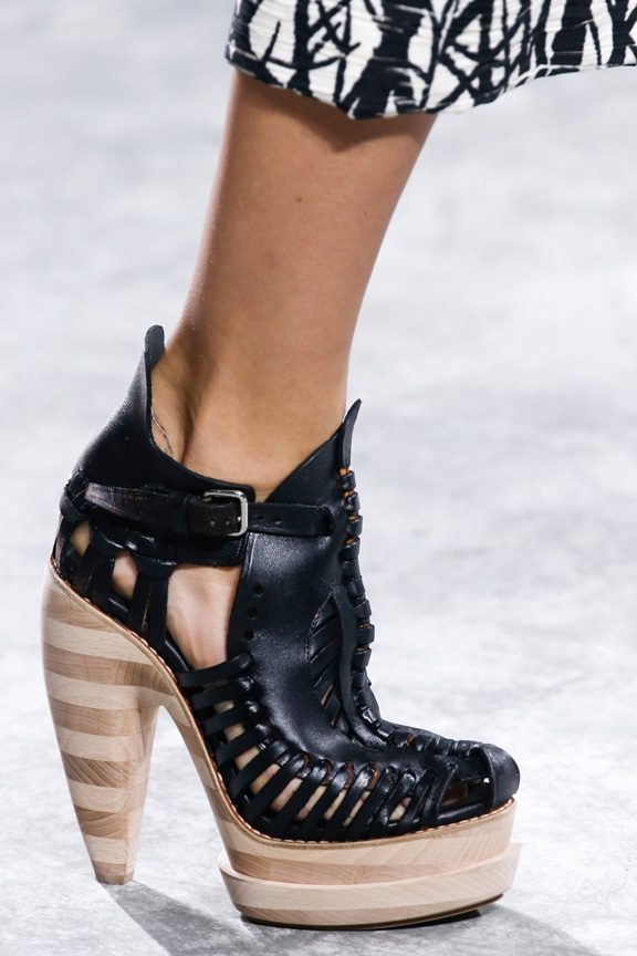 New York fashion week, catwalk, runway show, review, critic, spring summer 2014, shoes, proenza schouler