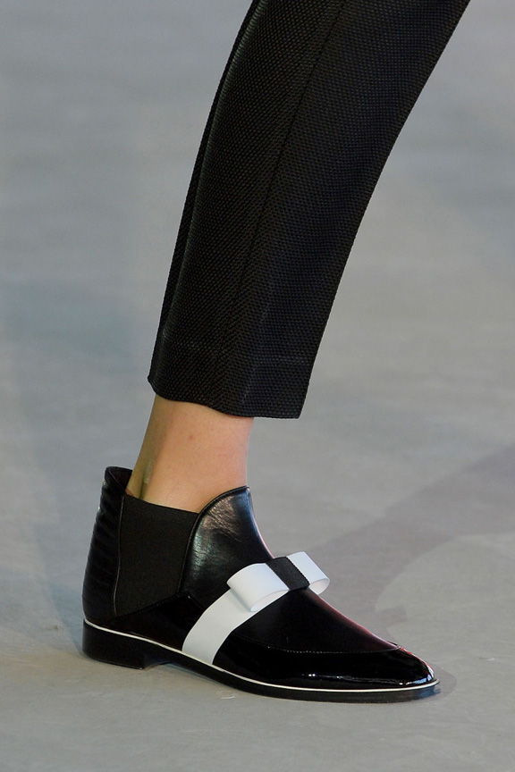 london fashion week, catwalk, runway show, review, critic, spring summer 2014, shoes, roksanda illincic