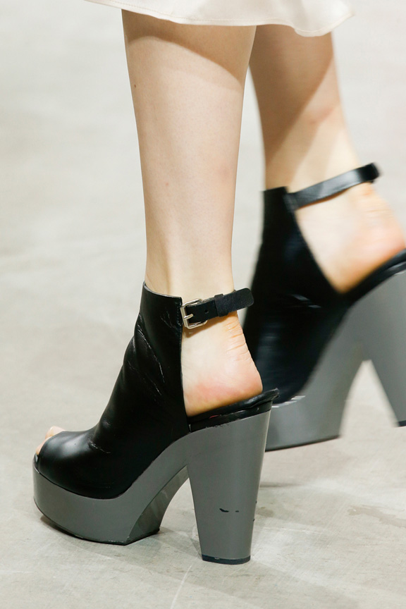 New York fashion week, catwalk, runway show, review, critic, spring summer 2014, shoes, theykens theory