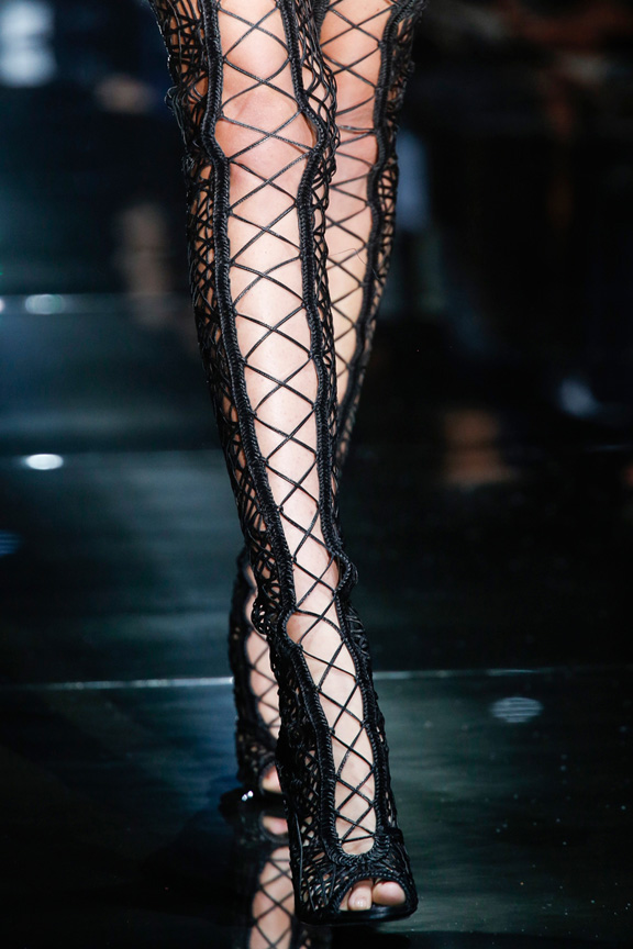 london fashion week, catwalk, runway show, review, critic, spring summer 2014, shoes, Tom Ford