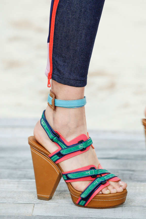 New York fashion week, catwalk, runway show, review, critic, spring summer 2014, shoes, tommy hilfiger