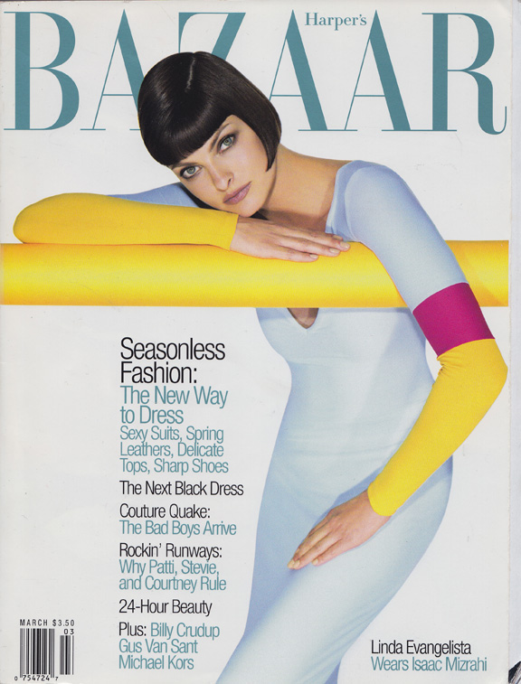 Liz Tilberis, Harper's Bazaar, magazine covers, editorial shoots, fashion photography, glossies, magazines