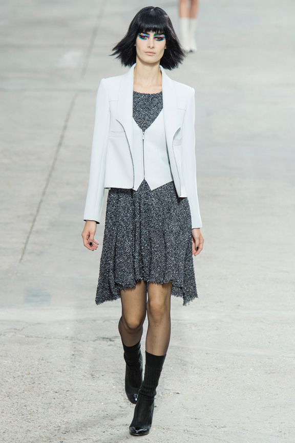catwalk, fashion critic, runway review, paris fashion week, spring summer 2014, chanel, karl lagerfeld