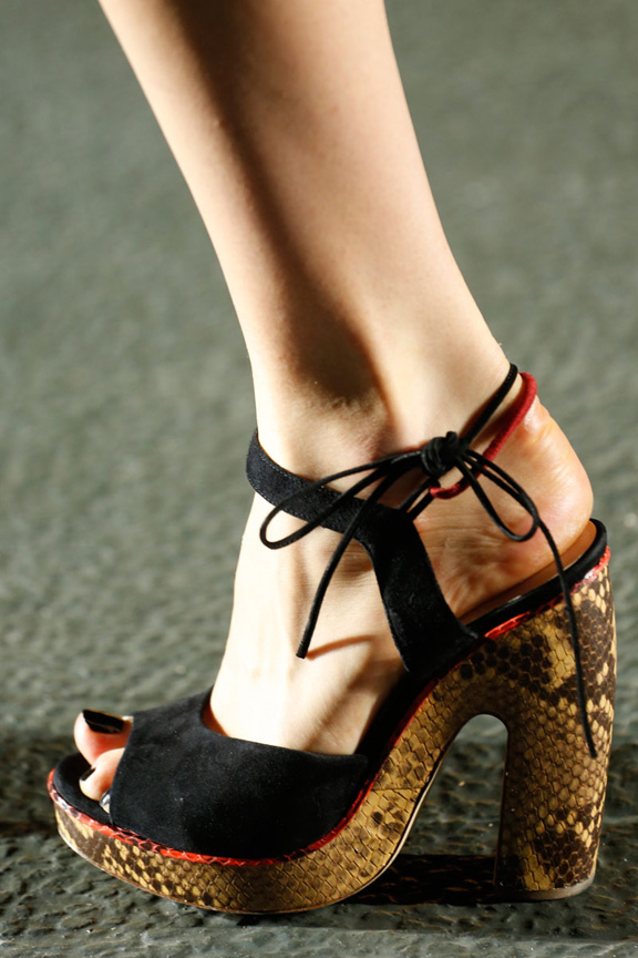 catwalk, fashion critic, runway review, paris fashion week, spring summer 2014, shoes,  dries van noten