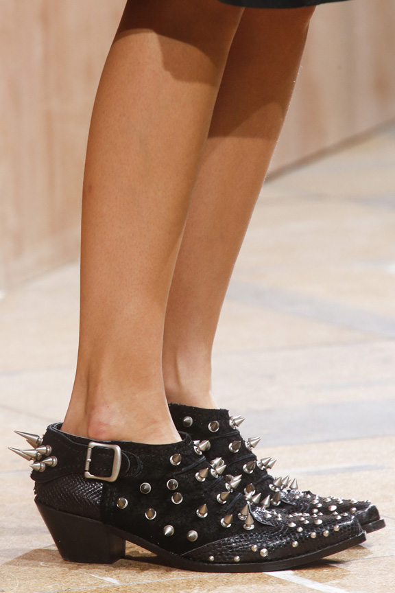 catwalk, fashion critic, runway review, paris fashion week, spring summer 2014, shoes,  junya watanabe