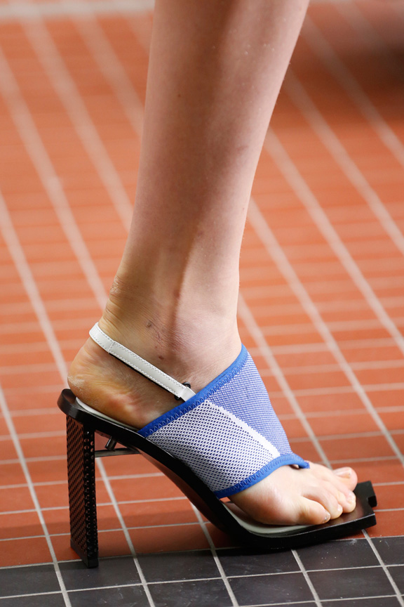 catwalk, fashion critic, runway review, paris fashion week, spring summer 2014, shoes,  kenzo