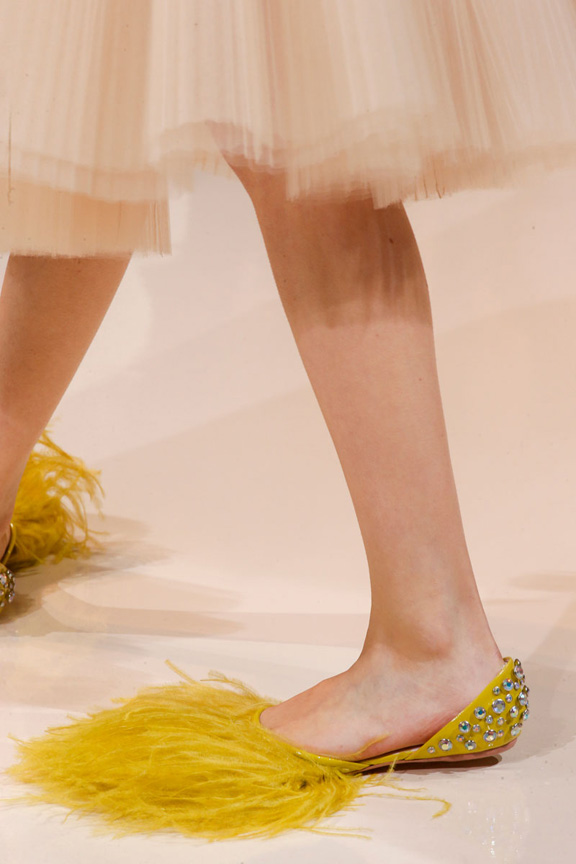 catwalk, fashion critic, runway review, paris fashion week, spring summer 2014, shoes,  rochas