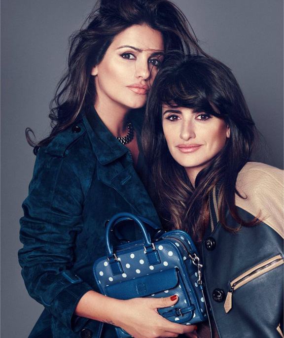 penelope cruz, monica cruz, loewe, celebrity fashion, mocktresses, loathe, celebrity collaborations