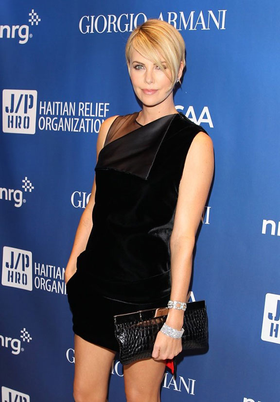 celebrity fashion, red carpet, celebrity designer, awards shows, charlize theron