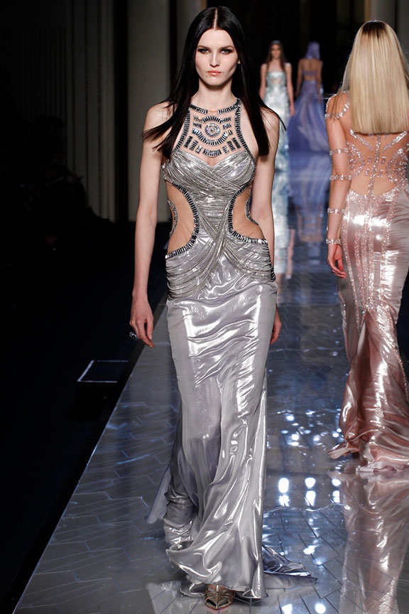 atelier versace, runway report, catwalk review, fashion critic, haute couture, paris, spring 2014, atelier versace