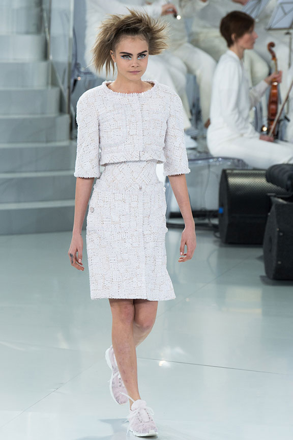 runway report, catwalk review, fashion critic, haute couture, paris, spring 2014, karl lagerfeld, chanel