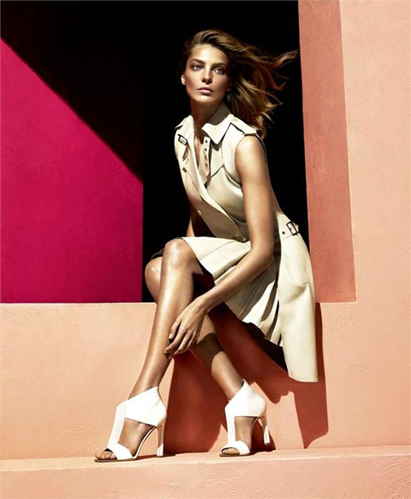 fashion photography, advertising campaigns, fashion magazines, styling, fashion shoots,  magazine ads, salvatore ferragamo, daria werbowy