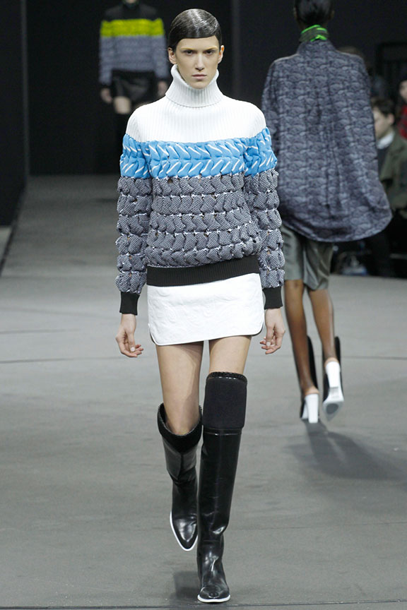 runway report, catwalk review, fashion critic, fashion week shows, new york, alexander wang