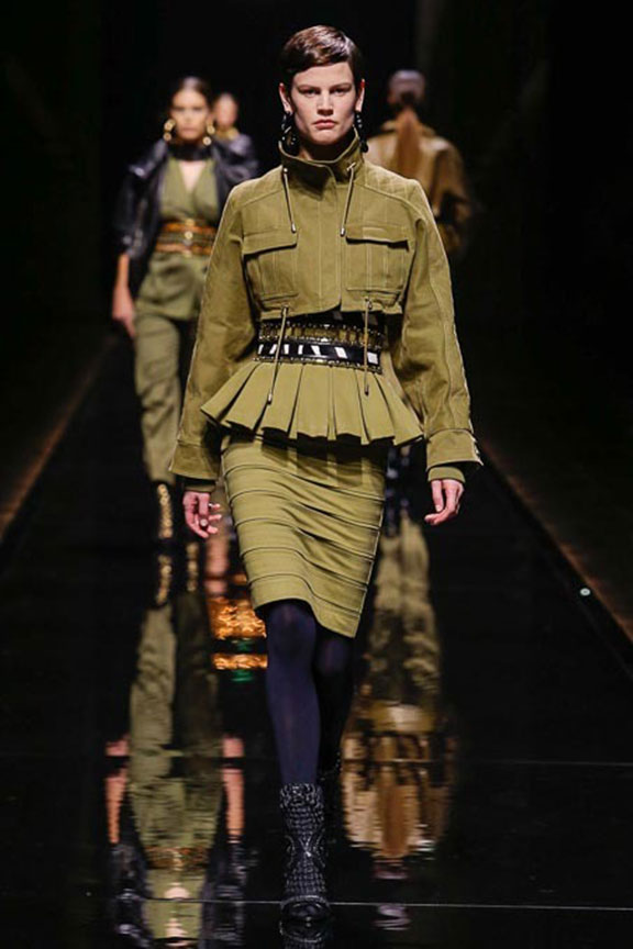Balmain Fall 2014 Searching For Style