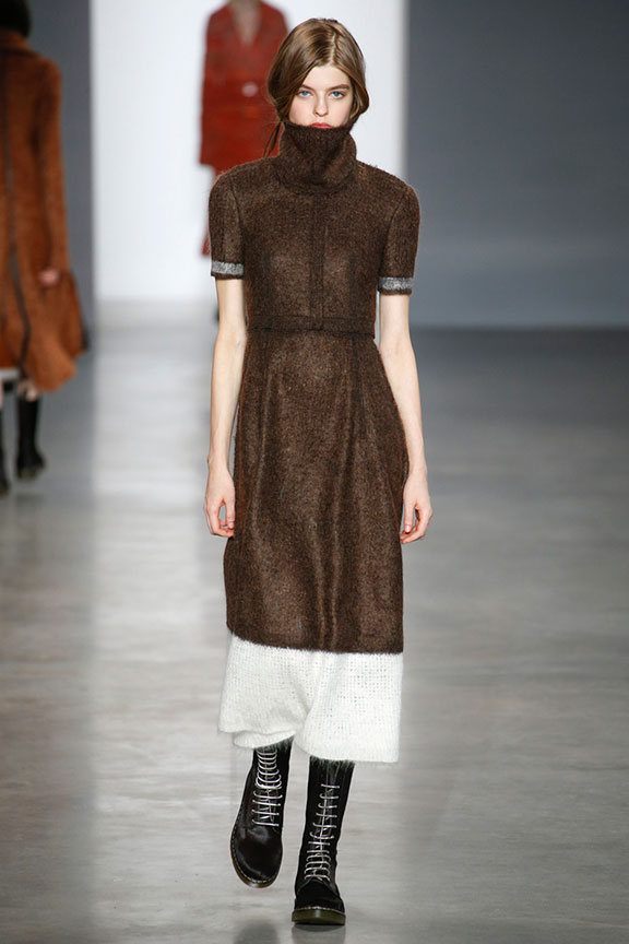runway report, catwalk review, fashion critic, fashion week shows, new york, calvin klein