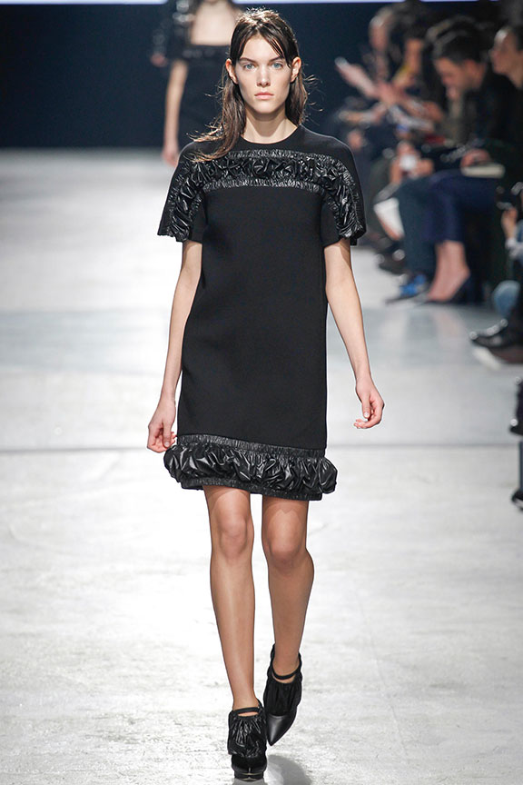 runway report, catwalk review, fashion critic, fashion week shows, London fashion week, christopher kane