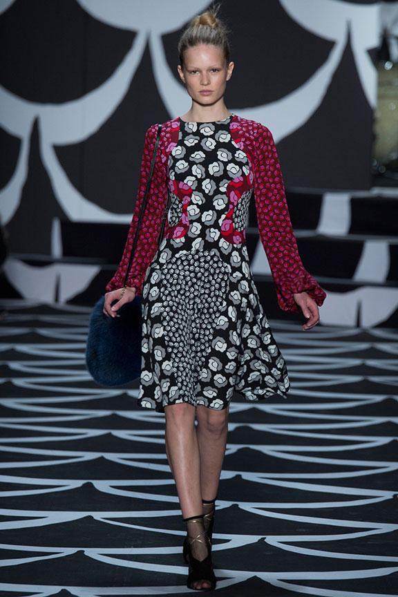 runway report, catwalk review, fashion critic, fashion week shows, new york, diane von furstenberg