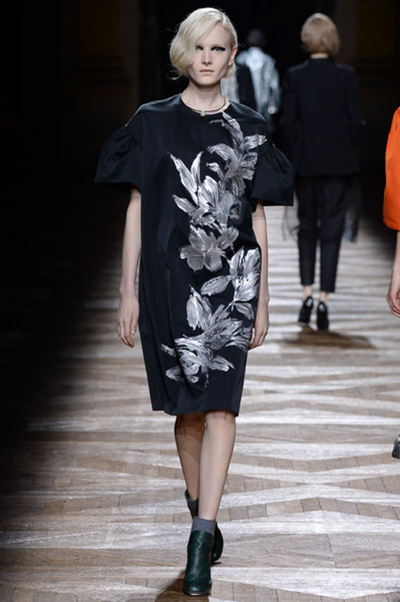 runway report, catwalk review, fashion critic, fashion week shows, paris fashion week, PFW, Dries Van Noten