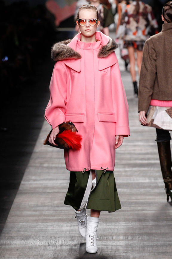 runway report, catwalk review, fashion critic, fashion week shows, milan fashion week, MFW, fendi, karl lagerfeld
