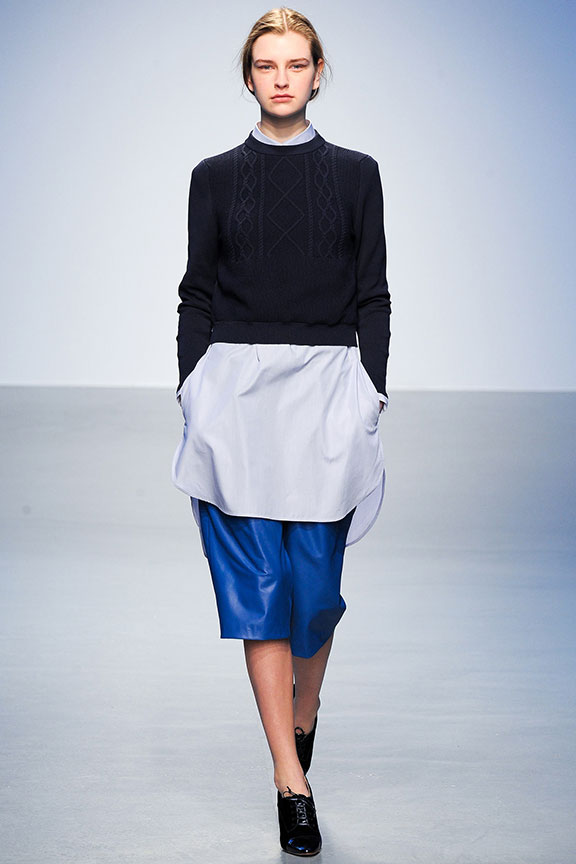 runway report, catwalk review, fashion critic, fashion week shows, London, Richard Nicoll