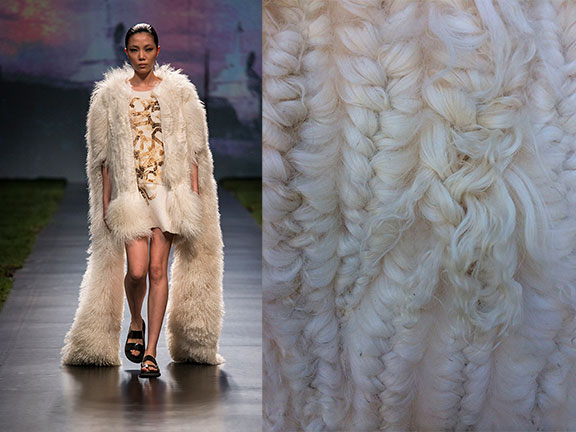 remix, fur, student, fashion student, catwalk show, milan, mifur